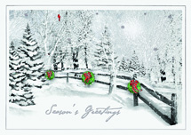 Scenic Pass Holiday Cards
